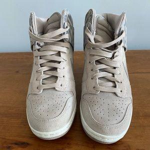 Nike wedge high tops